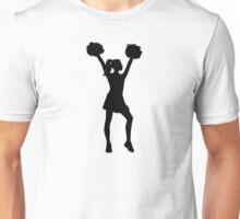 Cheerleader woman Unisex T-Shirt