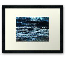 Midnight Marinescape (Kyanite) Framed Print
