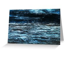 Midnight Marinescape (Kyanite) Greeting Card