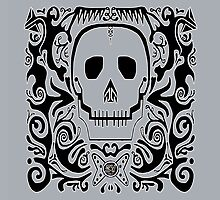 Skull Stencil_cool grey by Utilicon