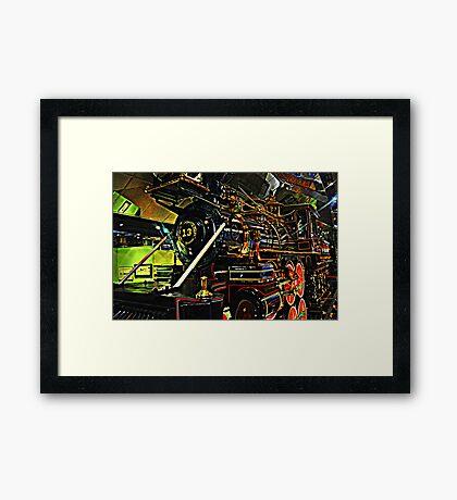 V & T Shay #13 Framed Print