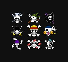 Straw Hat Pirate Badges Unisex T-Shirt