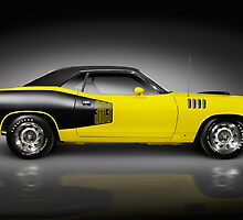 1972 Dodge Challenger retro sports car art photo print by ArtNudePhotos