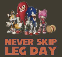 Never Skip Leg Day by James Hall