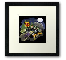 Sam and Dean hit the road Framed Print