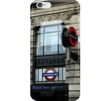 Green Park Station London Cell Case iPhone Case/Skin
