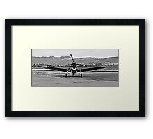 Warhawk Dead On Framed Print