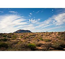 Light After Rain in the Sonoran Desert Photographic Print