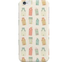 Houses pattern iPhone Case/Skin