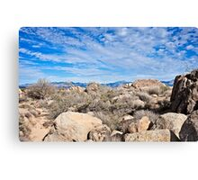 Rugged Sonoran Rocky Top Canvas Print