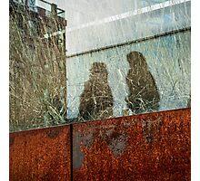 Walking Shadows on High Line Photographic Print
