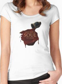 Lonely Soul Women's Fitted Scoop T-Shirt