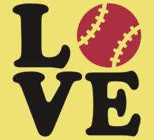 Baseball love Kids Tee