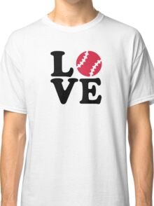 Baseball love Classic T-Shirt