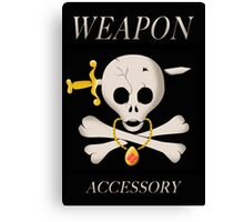 Weapon Accessory - Final Fantasy VII Canvas Print