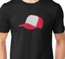 Red baseball cap hat Unisex T-Shirt