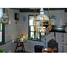 Old Frisian livingroom Photographic Print