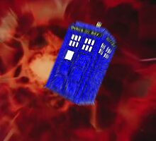 Blurred Tardis by NatalieMirosch