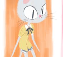 Kitty Fashion Sticker
