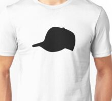 Black Baseball Cap Hat Unisex T-Shirt