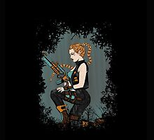Tomb Code Lara Phone by EdWoody