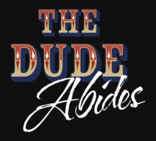 The Big Lebowski - The Dude Abides Kids Tee