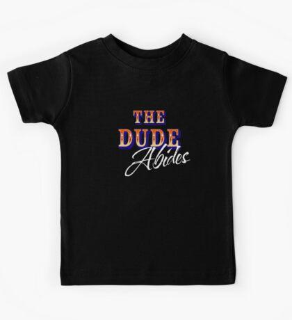 The Big Lebowski - The Dude Abides Kids Tee