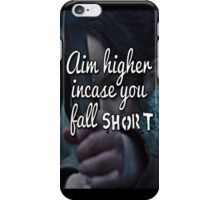 The Hunger Games famous quote case iPhone Case/Skin
