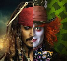 Johnny Depp - Mad Pirate by maxbrown