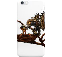 Songbird Feeds the Babies iPhone Case/Skin