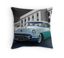 1955 Oldsmobile Super 88 Throw Pillow