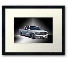 2012 GMC 'Jimmy' Custom Pick-Up Framed Print