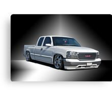 2012 GMC 'Jimmy' Custom Pick-Up Canvas Print