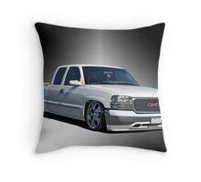 2012 GMC 'Jimmy' Custom Pick-Up Throw Pillow