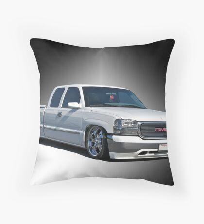 2012 GMC 'Jimmy' Custom Pick-Up Throw Pillow