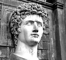 Head of Augustus by rgmf
