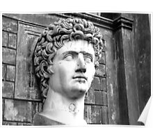 Head of Augustus Poster