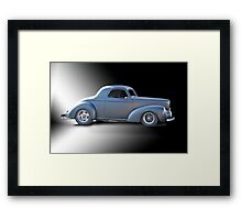 1941 Willys Coupe Studio Framed Print