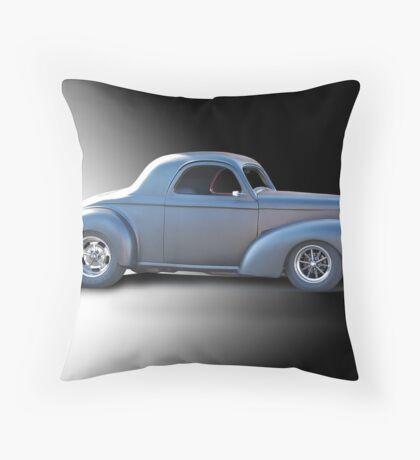 1941 Willys Coupe Studio Throw Pillow