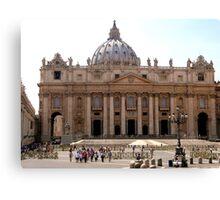 St Peters Basilica, Rome Canvas Print