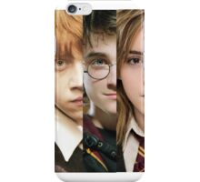 Harry Potter - The Wizard Trio iPhone Case/Skin