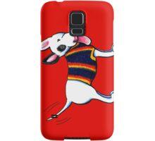 Bull Terrier in Blue Samsung Galaxy Case/Skin