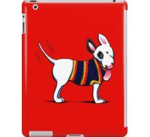 Bull Terrier in Blue iPad Case/Skin