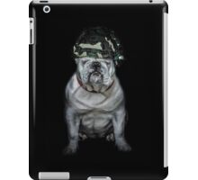 Private Bulldog 2 iPad Case/Skin