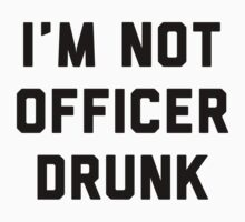 I'm Not Officer Drunk by Six 3