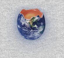 Funny Earth Egg Kids Tee