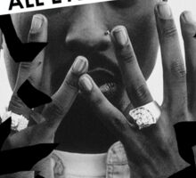 """tupac """"all eyes on me"""" Sticker"""