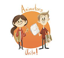 Animators Unite Photographic Print