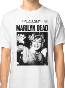 Marilyn Monroe - DEAD - Newspaper Classic T-Shirt