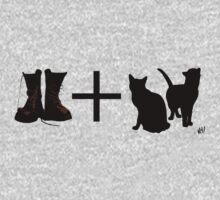 Boots + Cats by Nathan Hurst